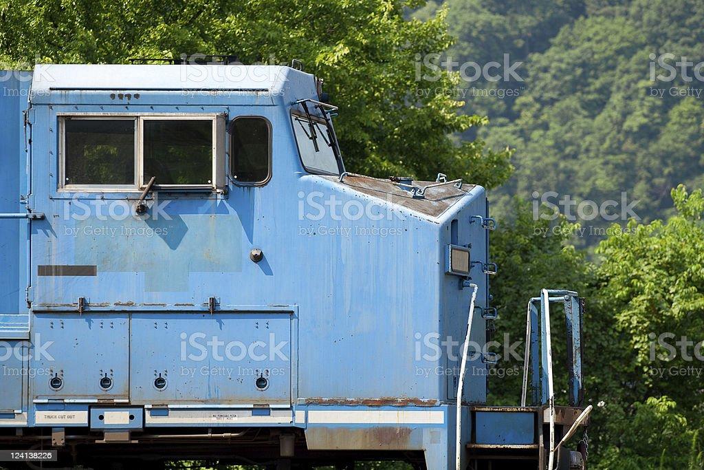 Modern Diesel Locomotive stock photo