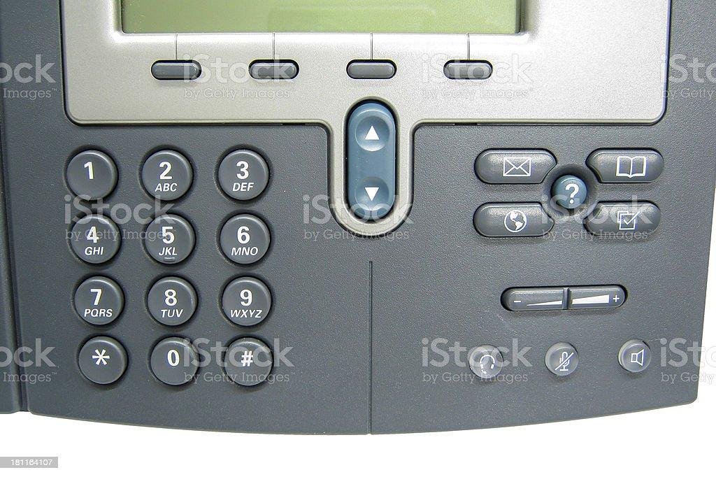 Modern Digital IP Phone royalty-free stock photo