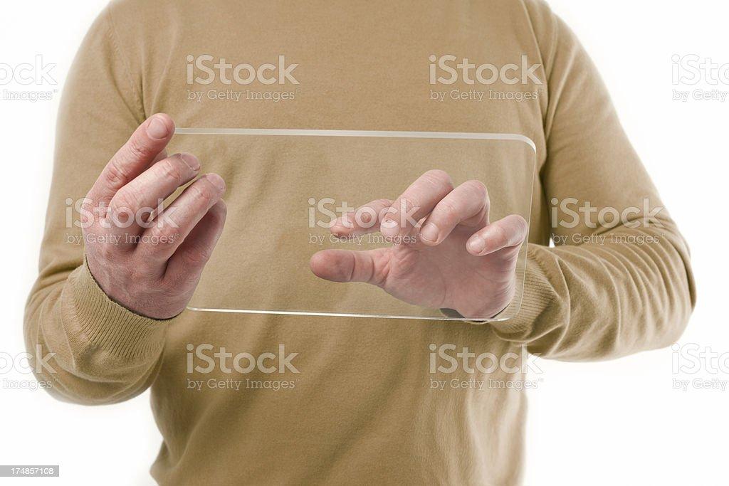 Modern digital tablet computer royalty-free stock photo