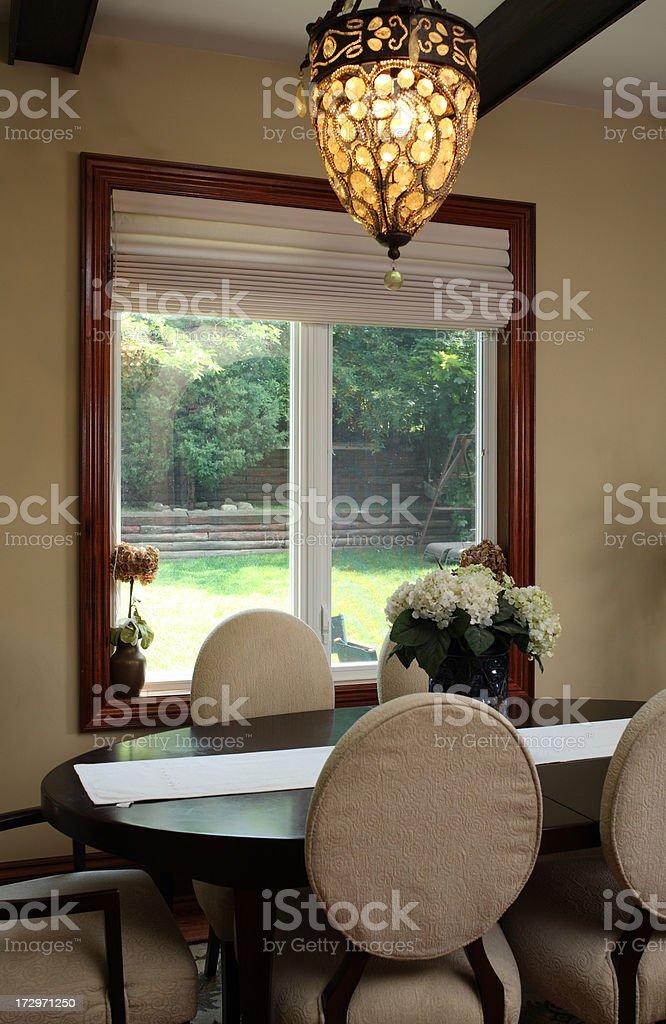 Modern Dinning Room royalty-free stock photo