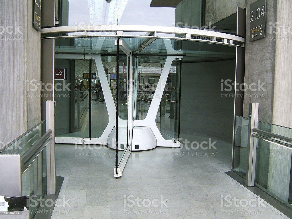 Modern door royalty-free stock photo