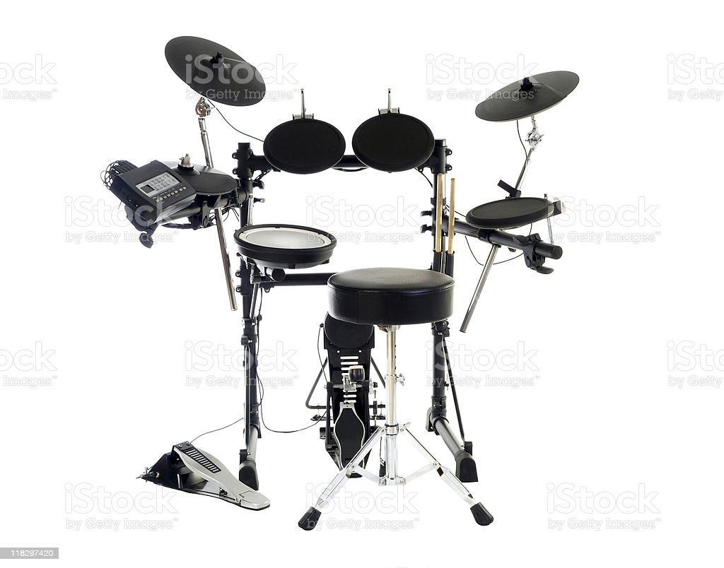 Modern Drums stock photo