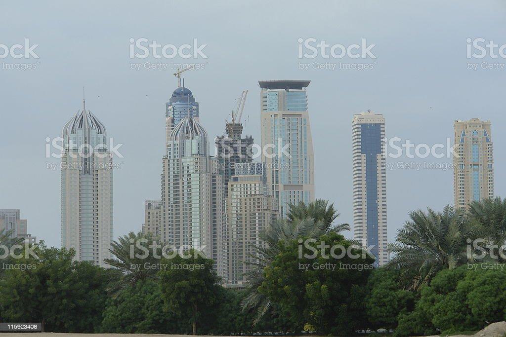 Modern Dubai royalty-free stock photo