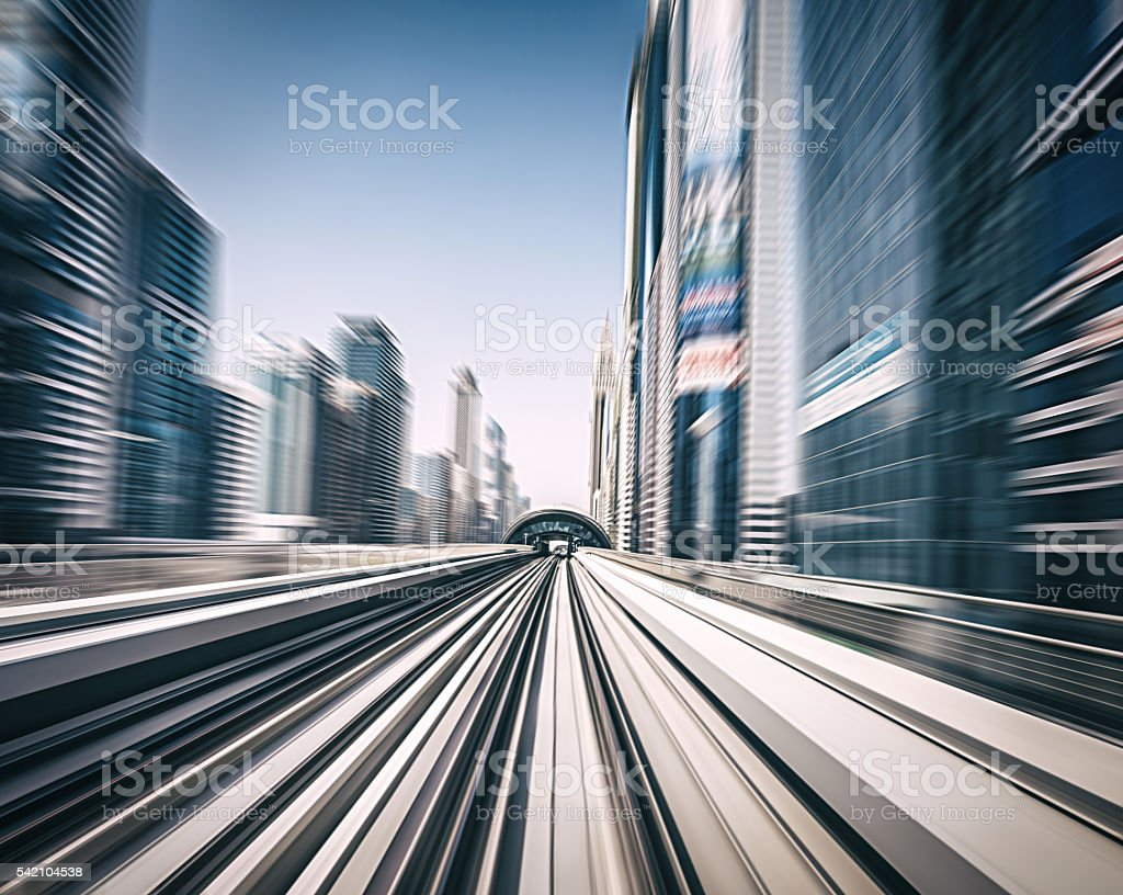 Modern Dubai stock photo
