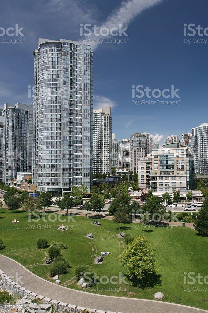 Modern Eco City royalty-free stock photo