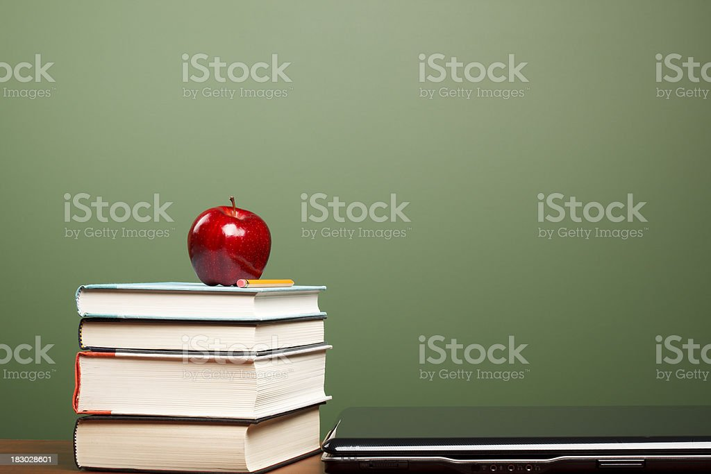 Modern Education (with copy space) stock photo