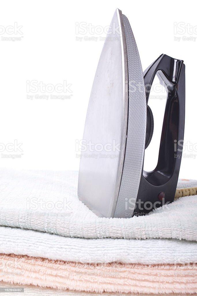Modern electric iron royalty-free stock photo