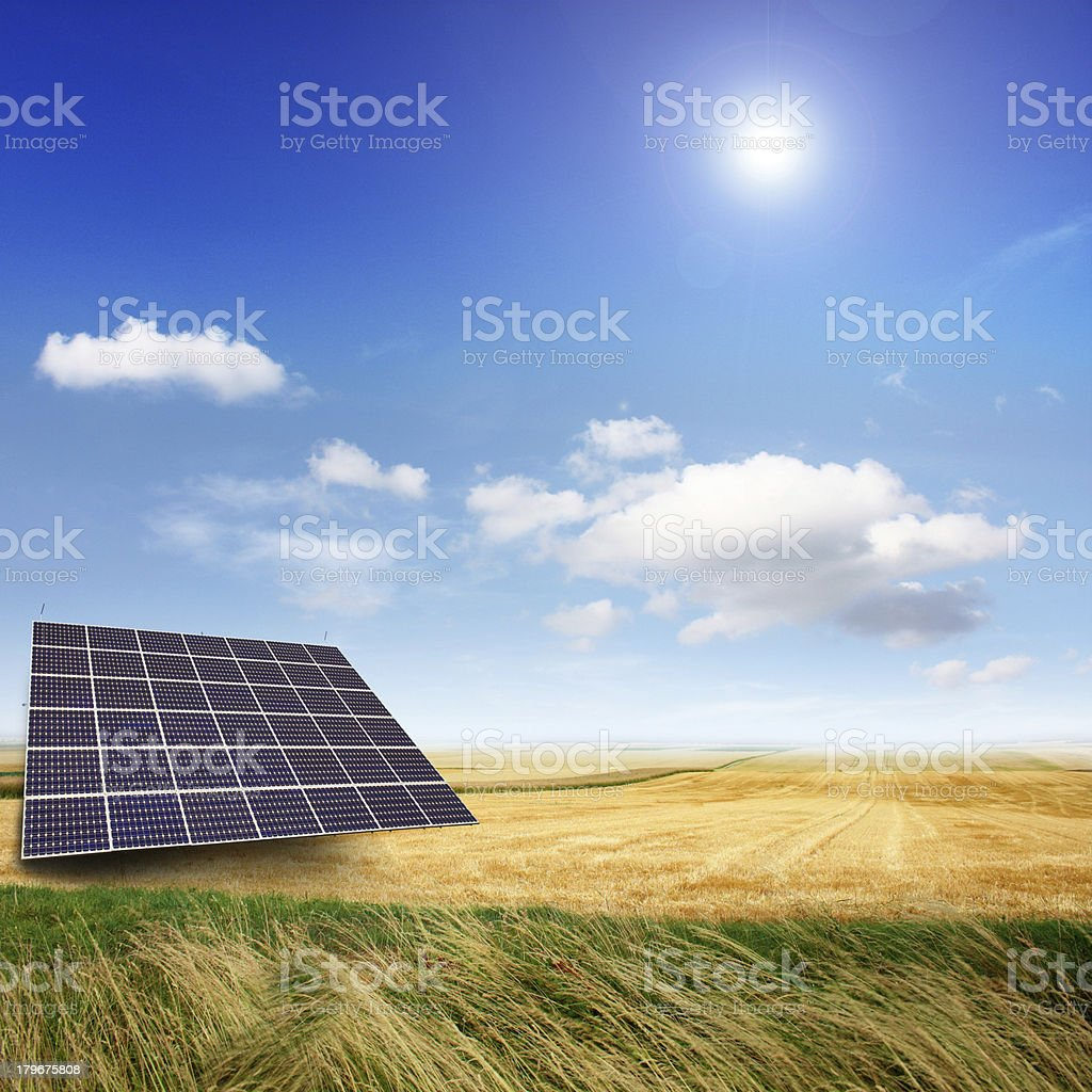 modern electricity royalty-free stock photo