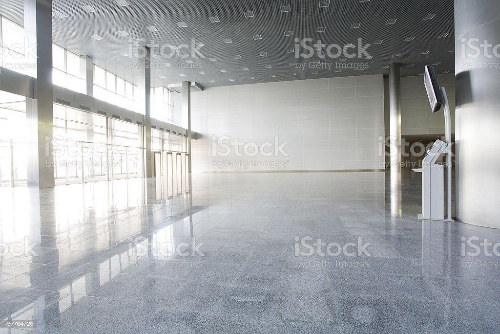 Modern empty building stock photo