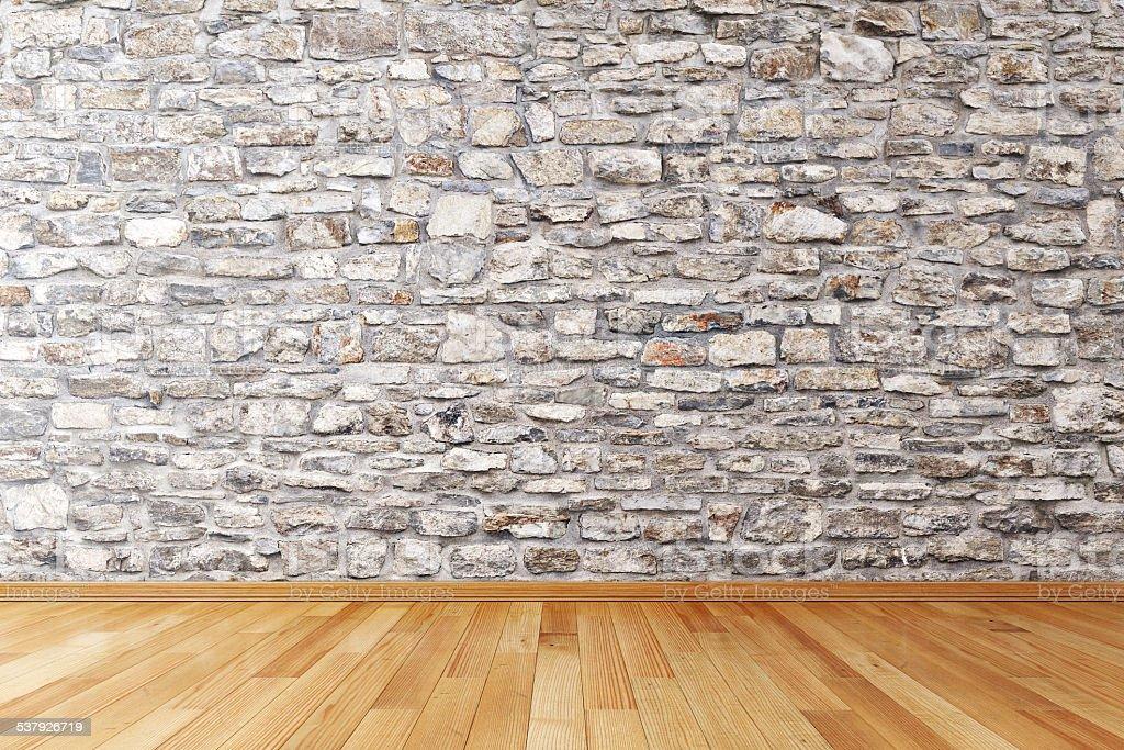 Modern empty interior stock photo