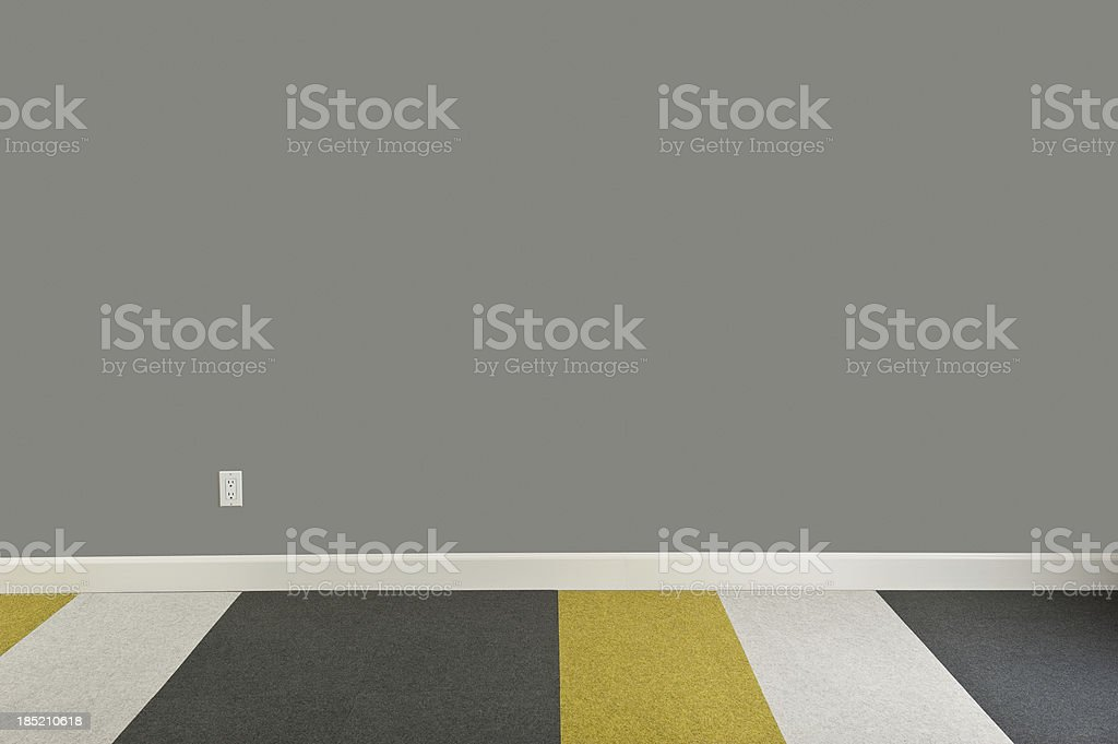 Modern Empty Room royalty-free stock photo