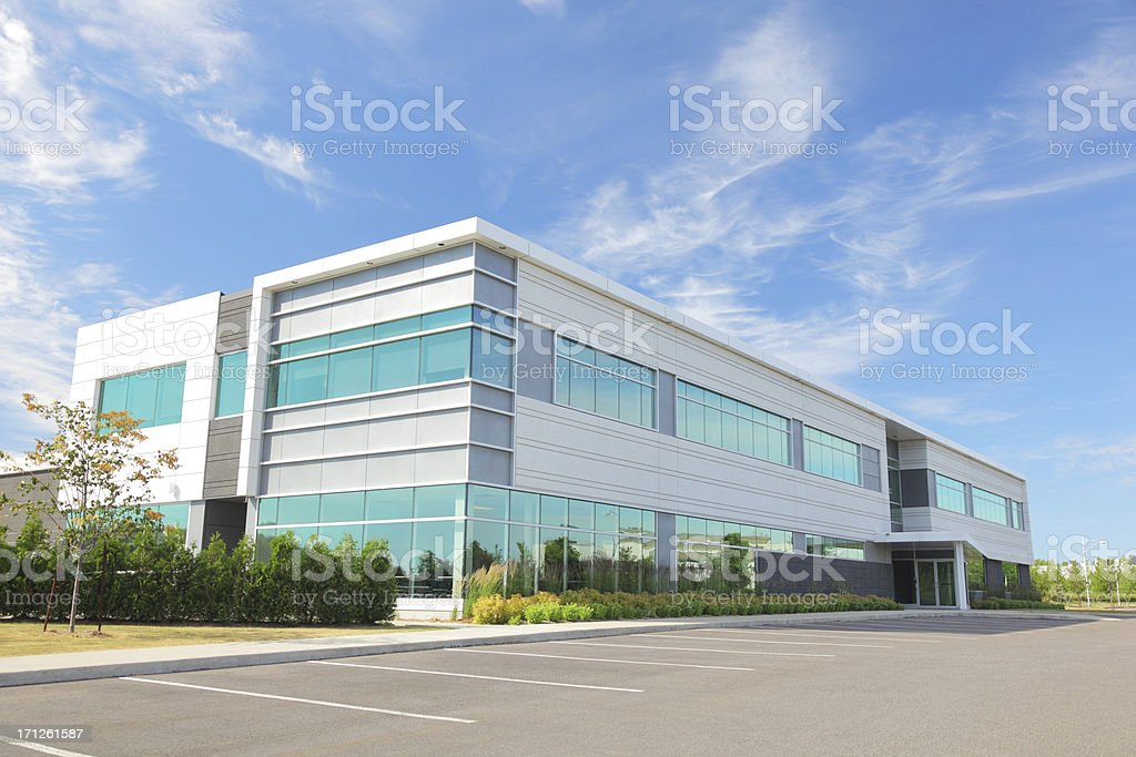 Modern Entreprise Building royalty-free stock photo