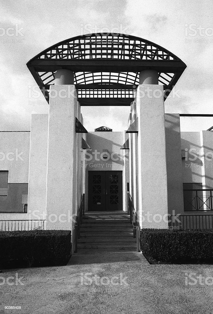 Modern Entryway stock photo