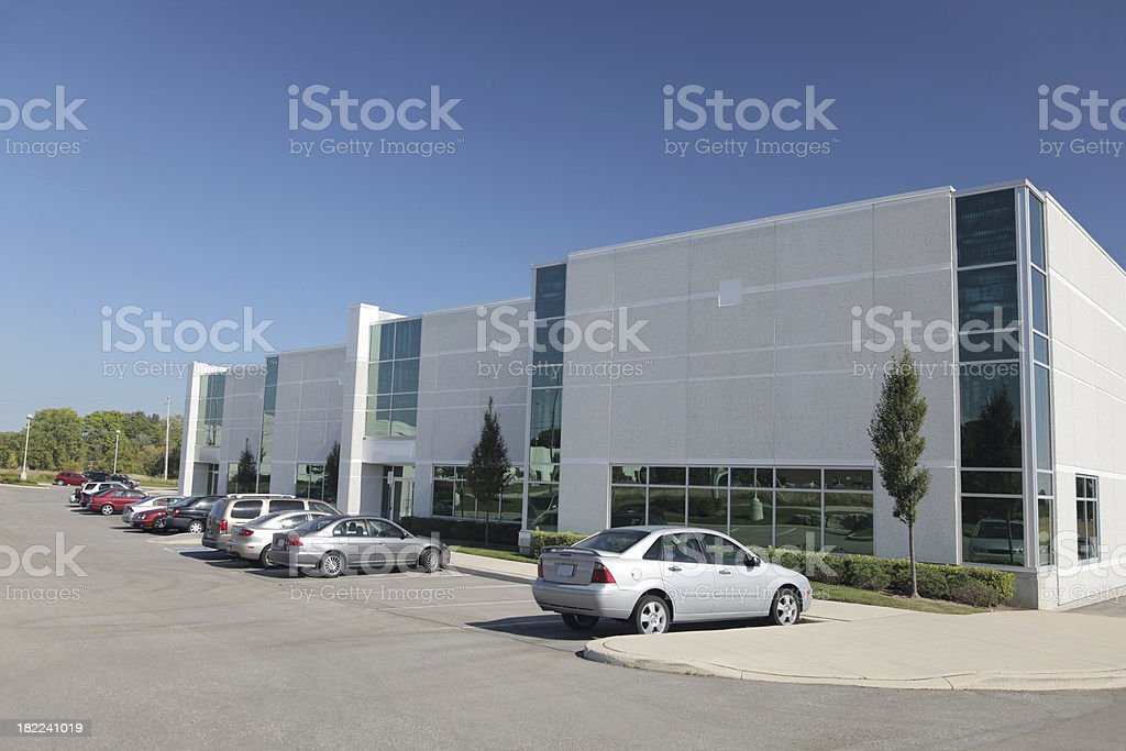 Modern Everyday Industry Building royalty-free stock photo