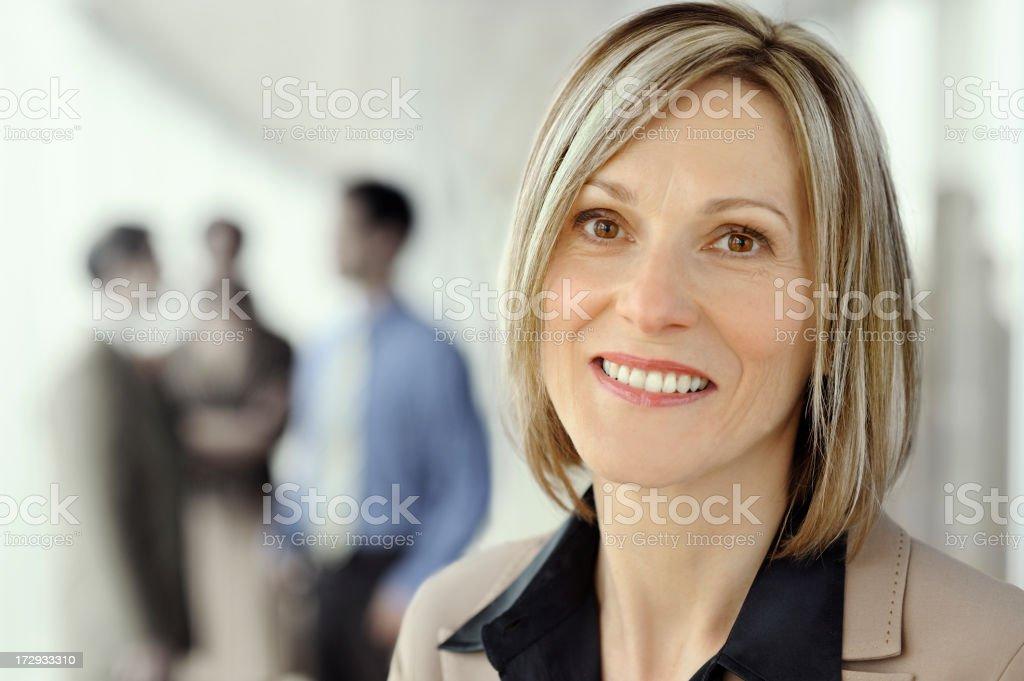 Modern Executive Woman royalty-free stock photo