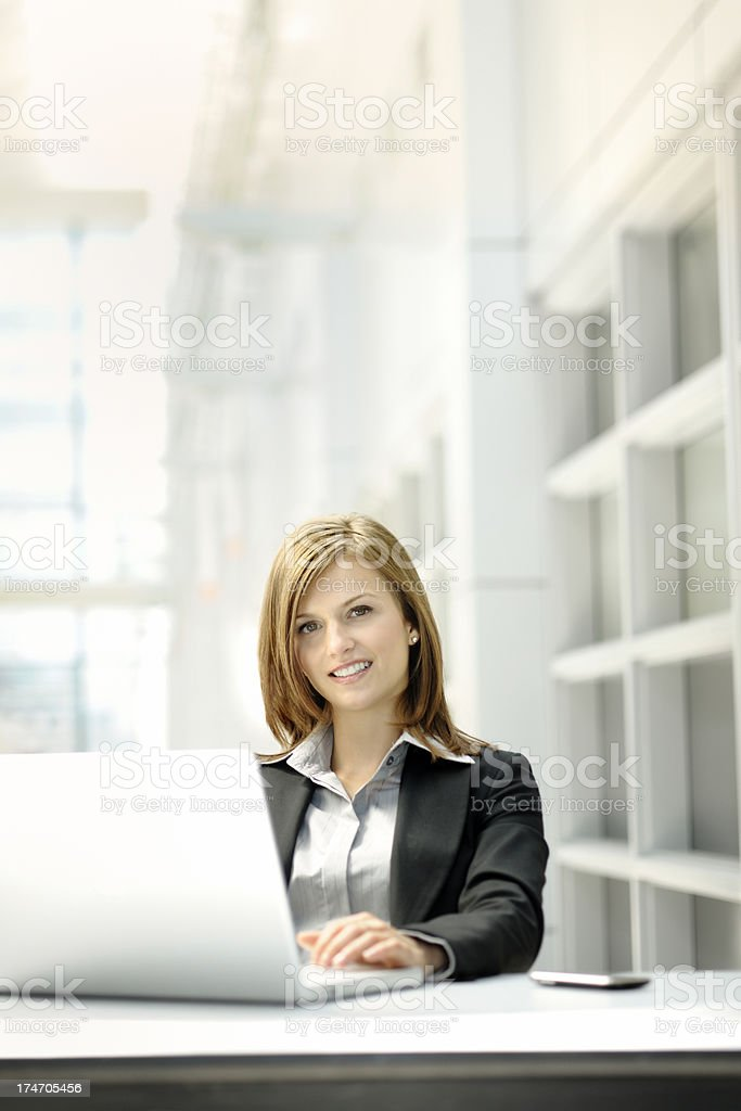 Modern executive woman royalty-free stock photo