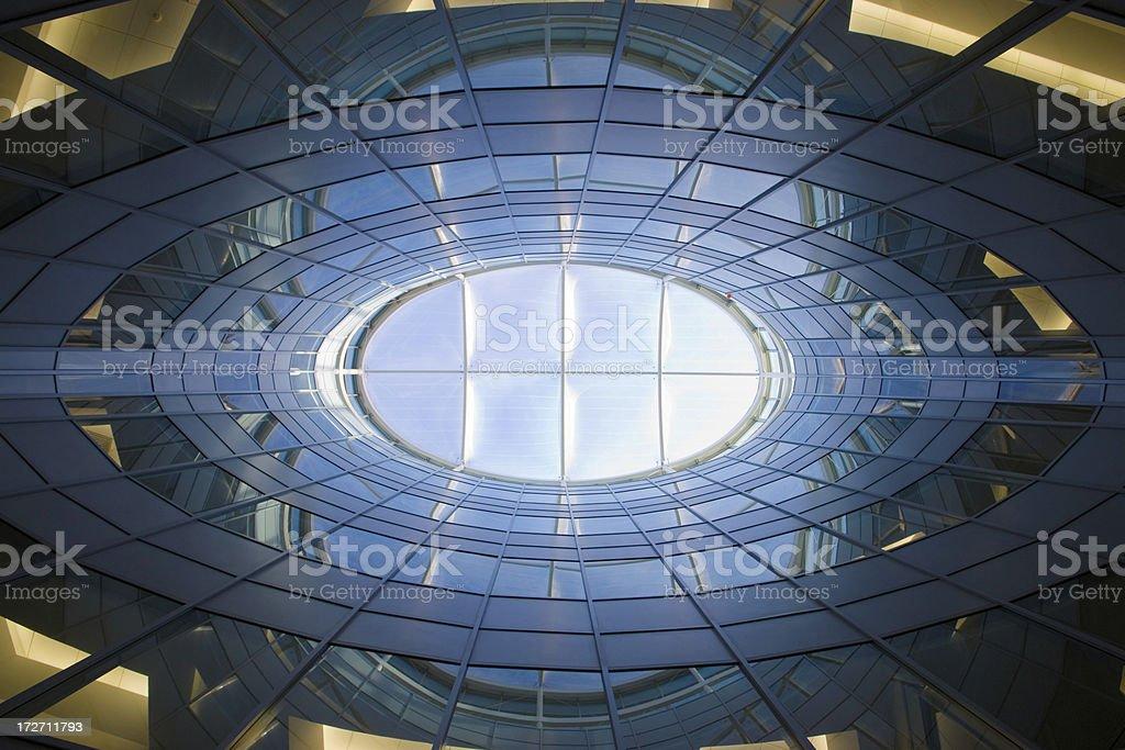 modern facade royalty-free stock photo