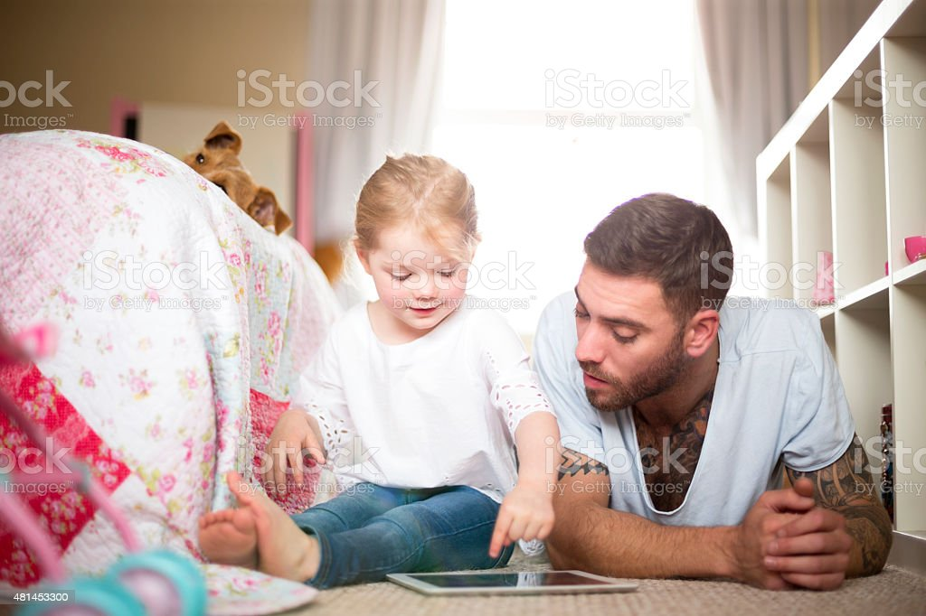 Modern Family stock photo