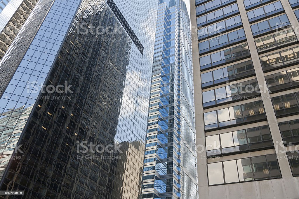 Modern Financial District royalty-free stock photo