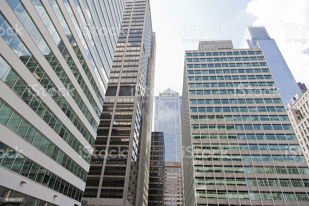 Modern Financial District royalty-free stock photo
