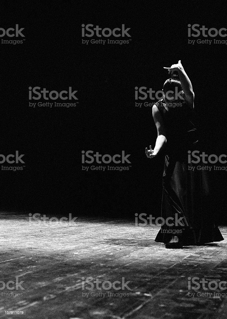 Modern flamenco stock photo