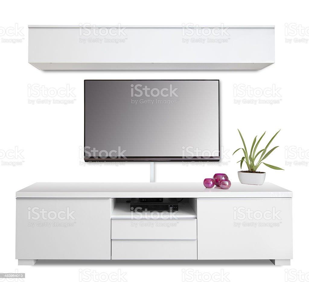 Modern Flatsceen And Funky Furniture stock photo