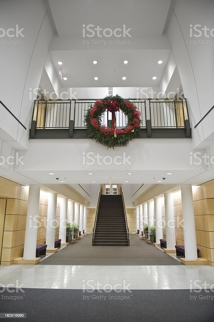 Modern Foyer royalty-free stock photo