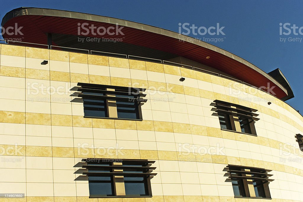 Modern French building royalty-free stock photo