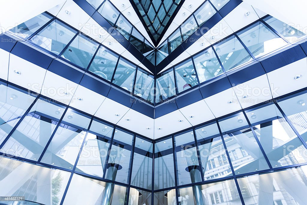 Modern Futuristic Architecture royalty-free stock photo