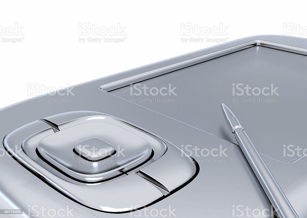 Modern gadget royalty-free stock photo