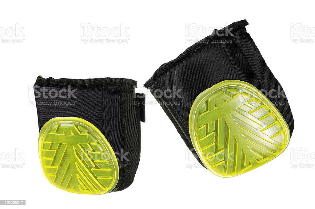 Modern Gel Type Protective Knee Pads stock photo