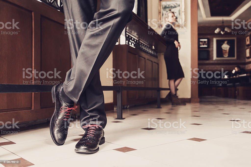 Modern Gentleman Lifestyle stock photo