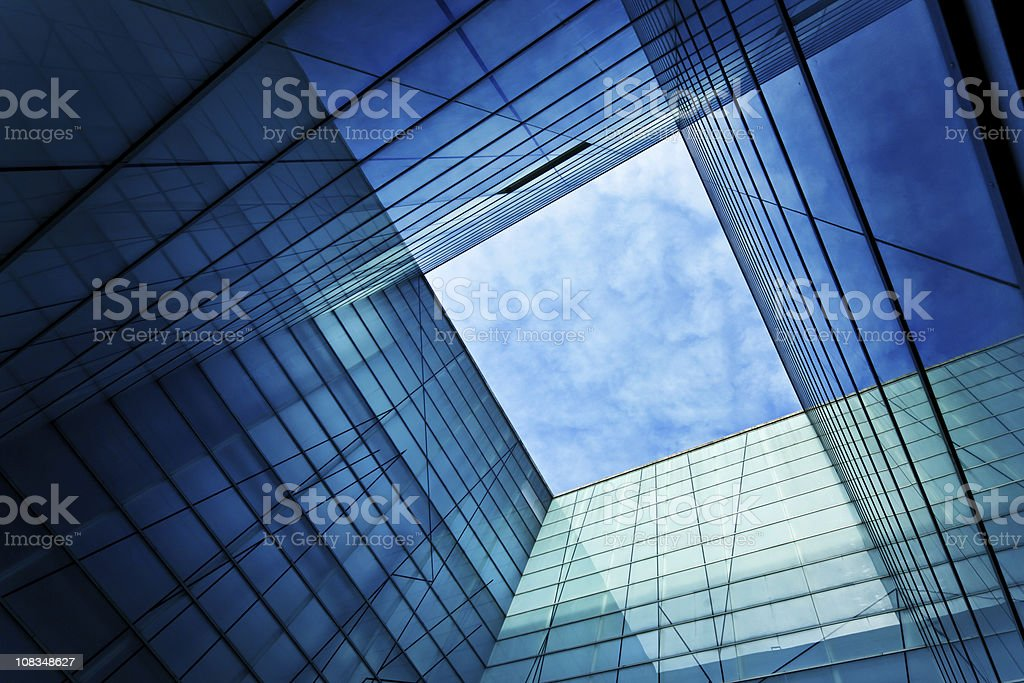 Modern Glass Architecture stock photo
