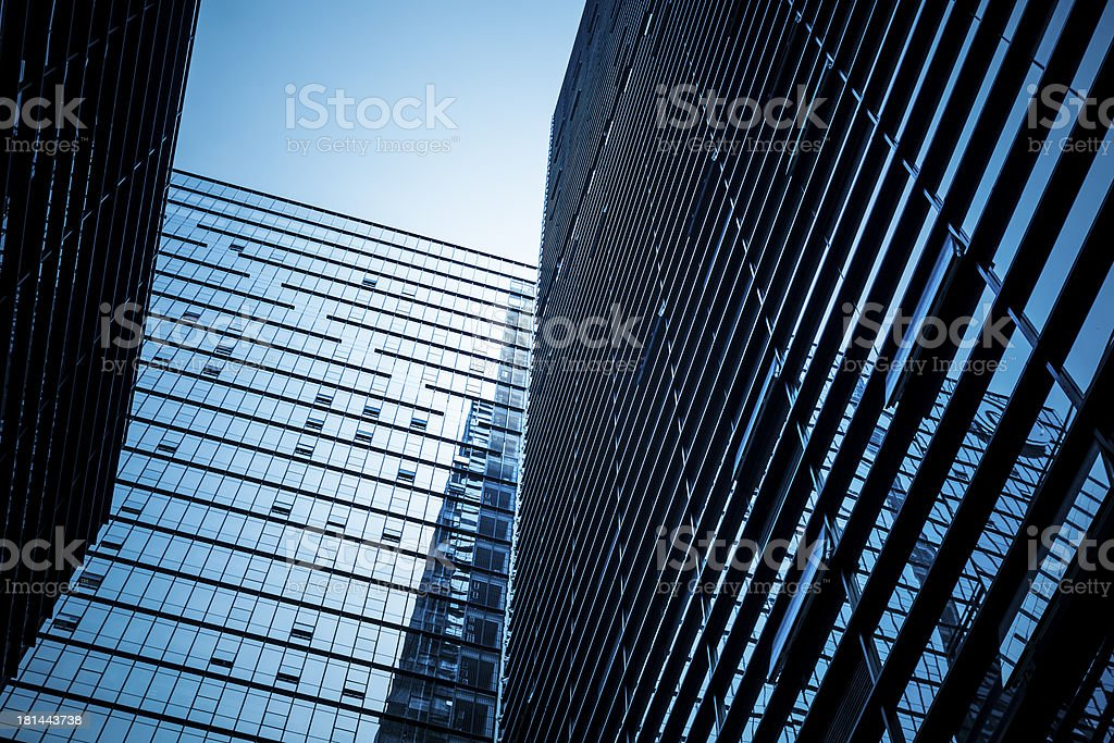 Modern Glass Architecture royalty-free stock photo