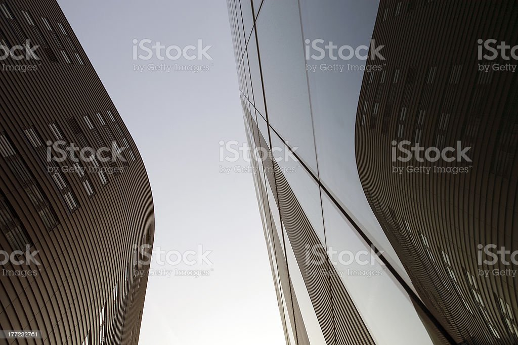 Modern Glass Building Architecture royalty-free stock photo
