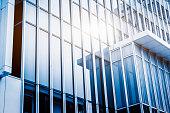 modern glass building exterior