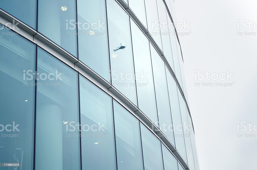 modern glass building facade royalty-free stock photo
