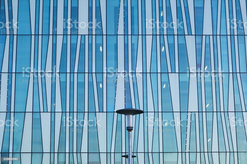 Modern glass building facade stock photo