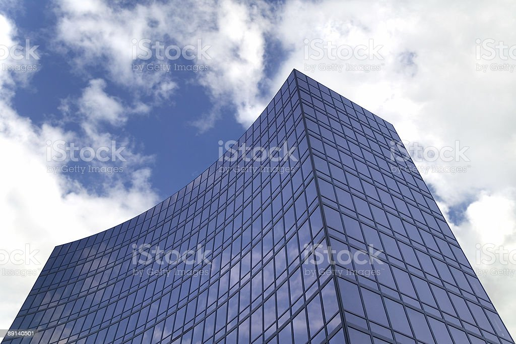 Modern glass building. royalty-free stock photo