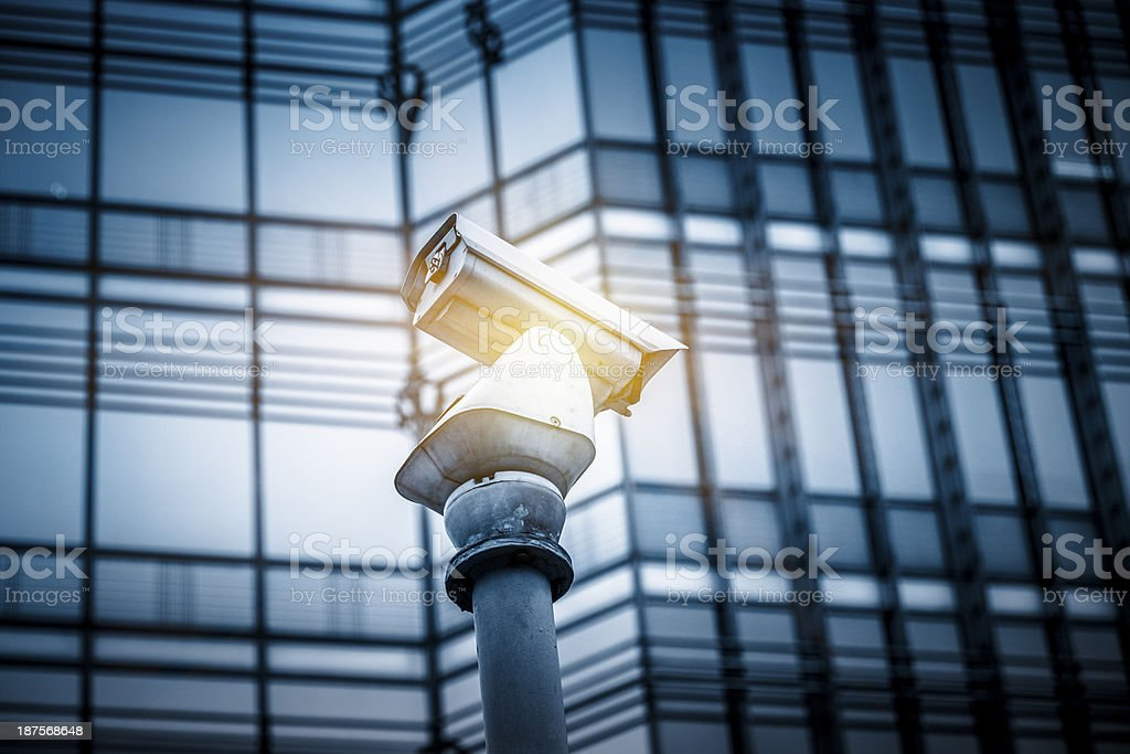 Modern glass corporate building royalty-free stock photo