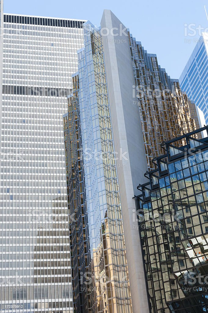 Modern Glass Towers royalty-free stock photo