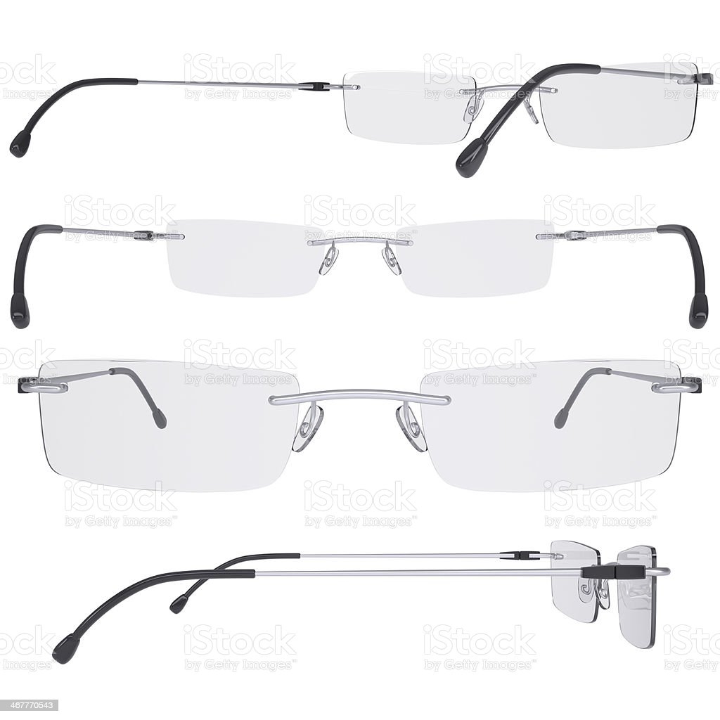 Modern glasses royalty-free stock photo