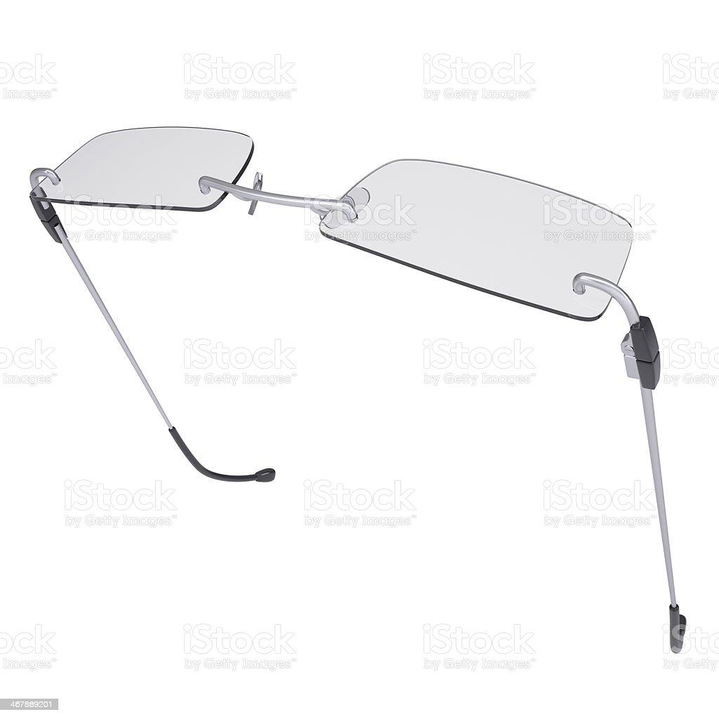 Modern glasses royalty-free stock photo