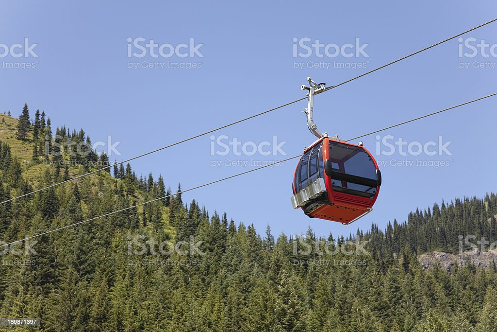 Modern Gondola royalty-free stock photo