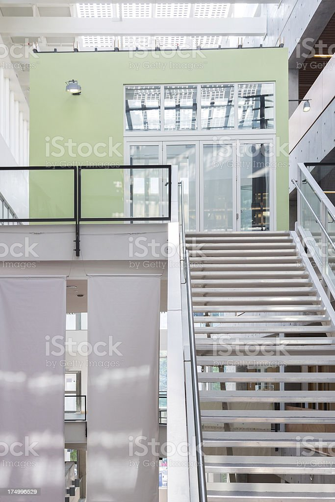 Modern Green Office royalty-free stock photo