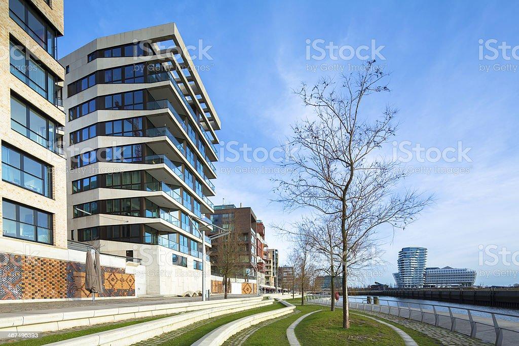 Modern Hafencity Hamburg stock photo