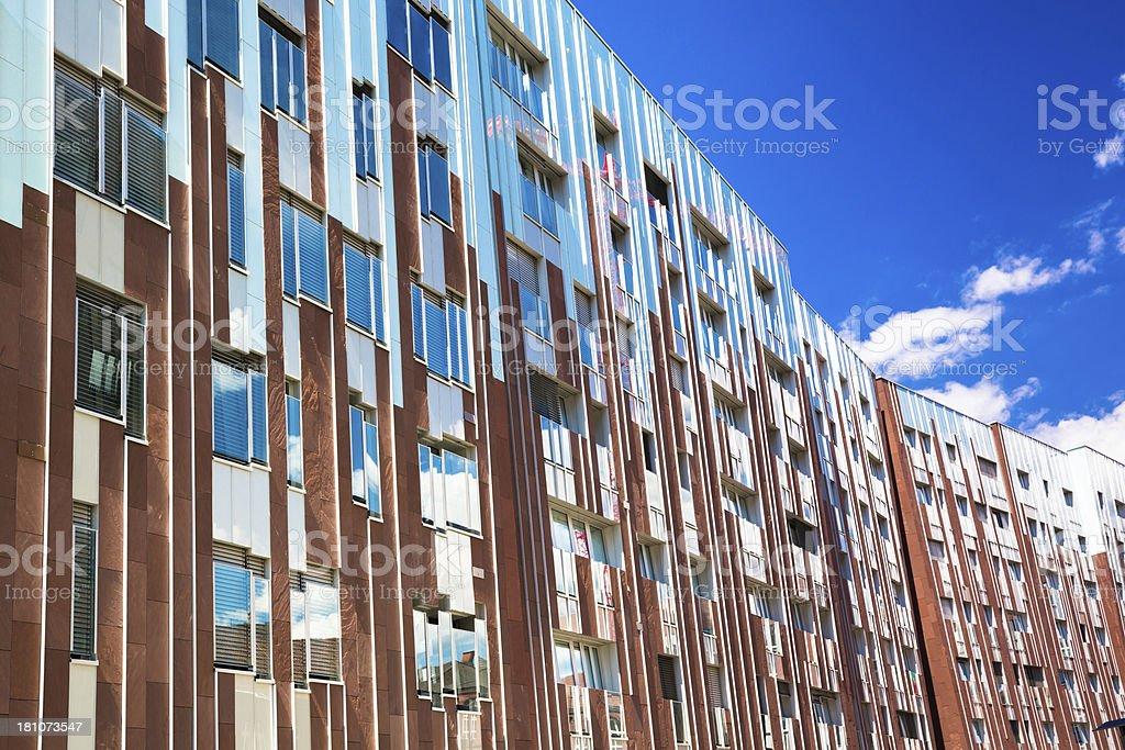 Modern Hafencity stock photo