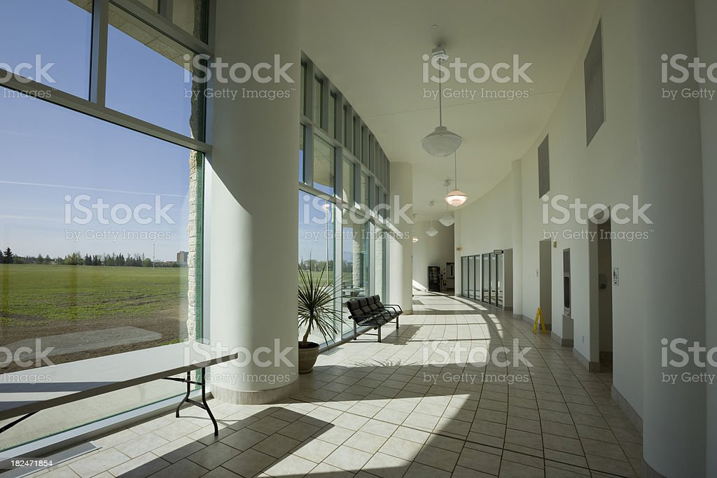 Modern Hallway royalty-free stock photo