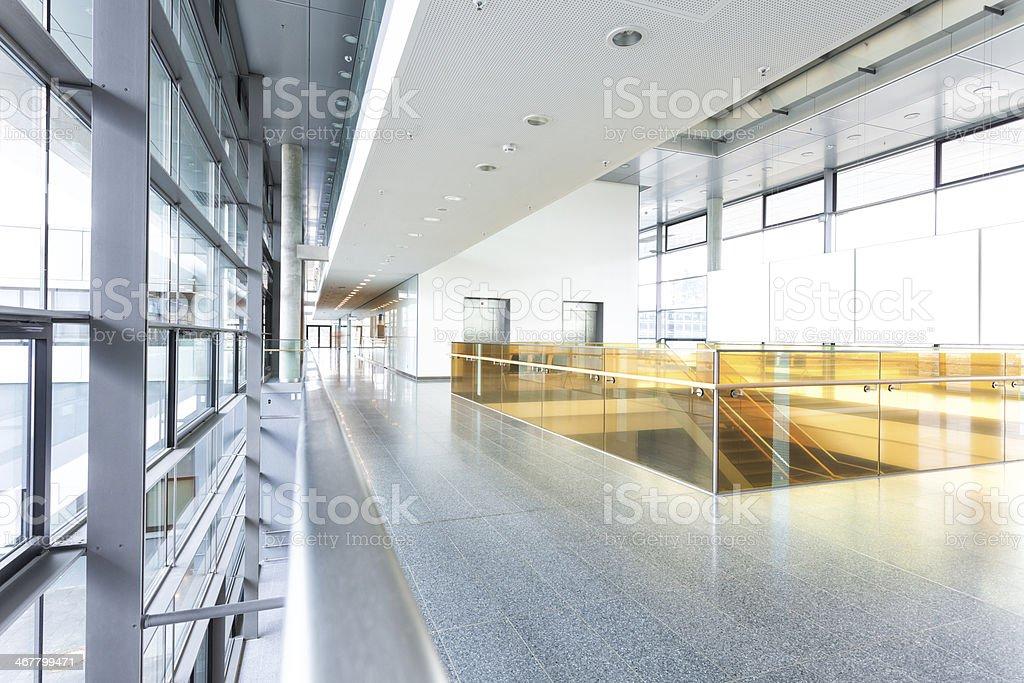 Modern Hallway stock photo
