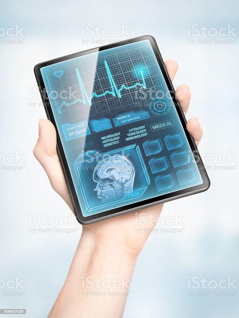 Modern healthcare stock photo